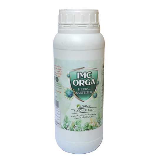 محلول ضدعفونی کننده یک لیتری تمام ارگانیک و گیاهی imc orga